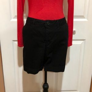 Faded Glory Black Shorts